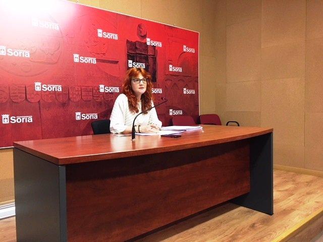 La concejal de Turismo de Soria, Ana Calvo