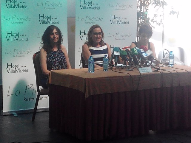 Noelia Bru, portavoz de la familia de Patricia Aguilar