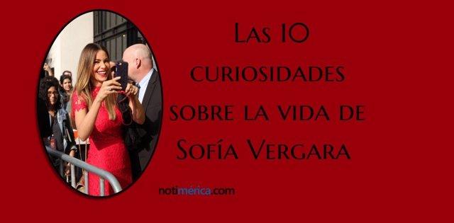 Las 10 curiosidades de Sofía Vergara