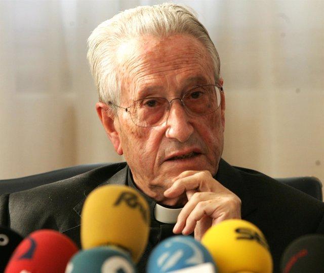 José María Setién, obispo emérito de San Sebastián