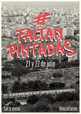 Grafiters, muralistes i artistes urbans se sumen a la plataforma No Callarem