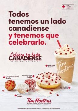 TIM HORTONS CELEBRA EL DÍA DE CANADÁ
