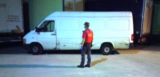 Imagen de la furgoneta.