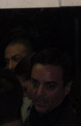 Rodrigo de Santos, en los Juzgados