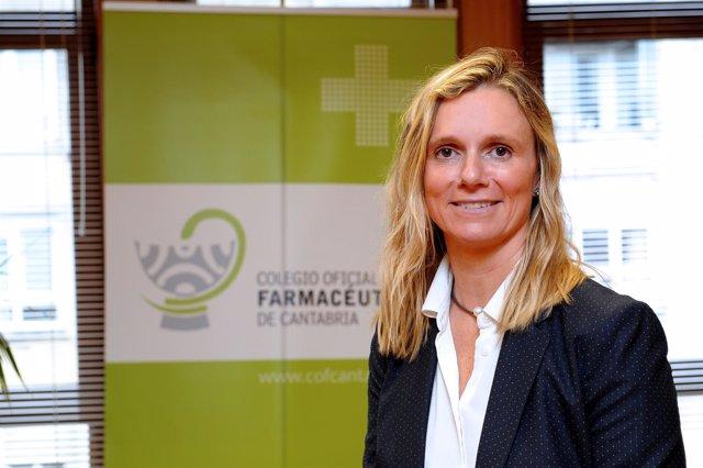 Presidenta Colegio Farmacéuticos Cantabria