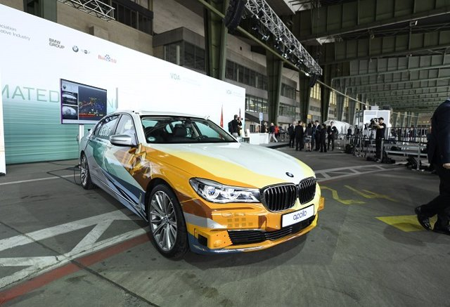 BMW se integra en la plataforma de conducción autónoma china Apollo