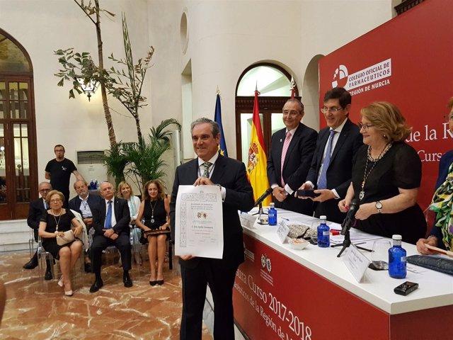 Jesús Aguilar, pte. Del Consejo General de Colegios Oficiales de Farmacéuticos