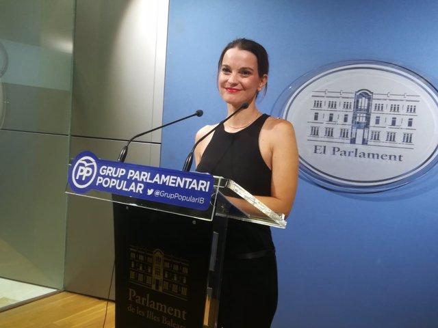 La portavoz del GPP, Margalida Prohens