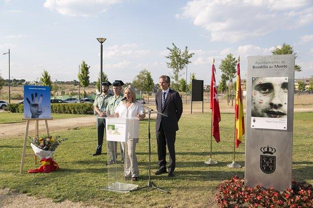 Homenaje a Miguel Ángel Blanco en Boadilla del Monte