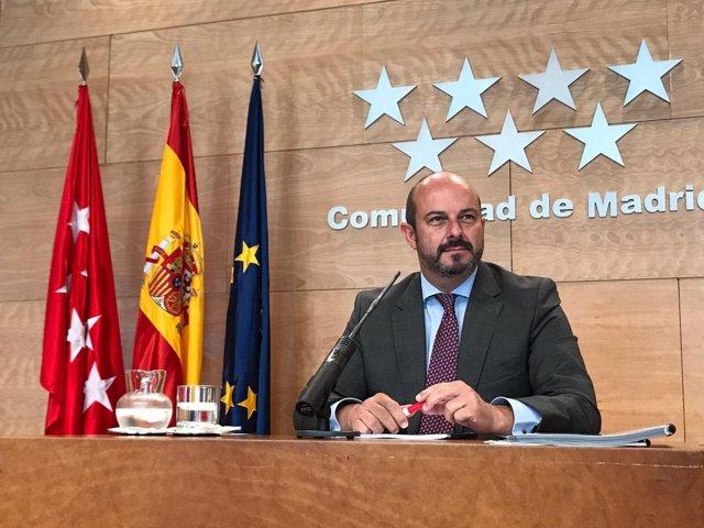 Pedro Rollán, vicepresidente de la Comunidad