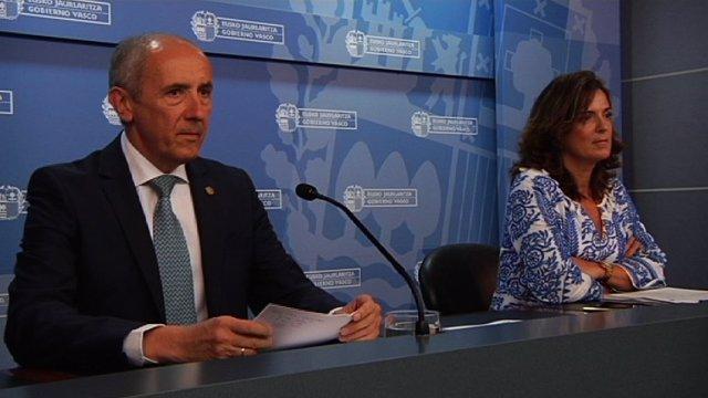 Consejo de Gobierno, Josu Erkoreka y Artolazabal