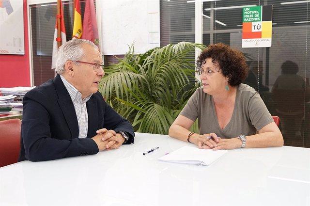 Firma del convenio entre el Ayuntamiento y la Fundación Cauce