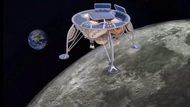 Nave espacial de Israel con destino a la superficie lunar