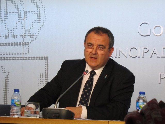 El consejero de Empleo, Industria y Turismo, Isaac Pola