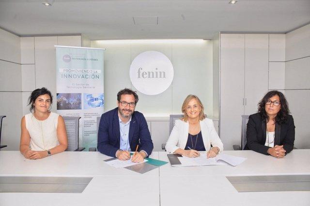 Firma Fenin y Fundación Cotec