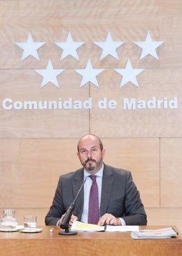 Pedro Rollán informa de los acuerdos del Consejo de Gobierno