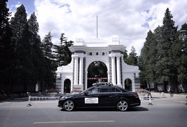 Coche autónomo de Daimler en China