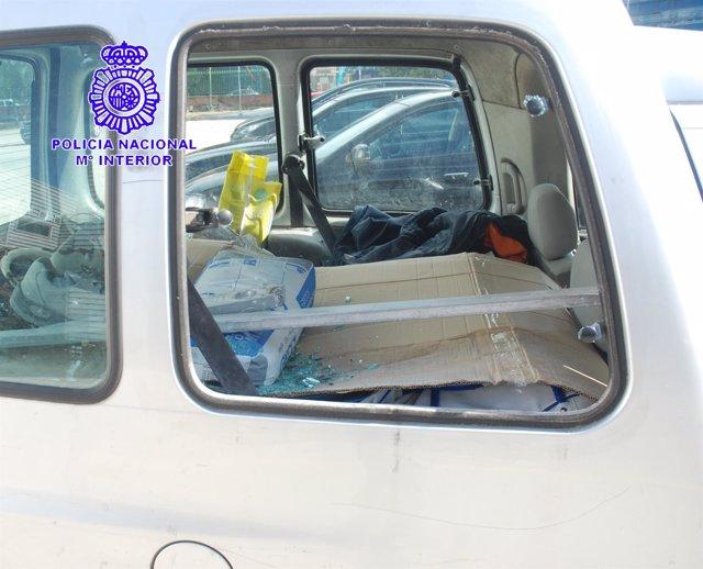 Detenido Por Un Presunto Delito De Robo Con Fuerza En El Interior De Un Vehículo