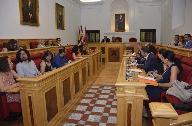 Pleno del Ayuntamiento de Toledo
