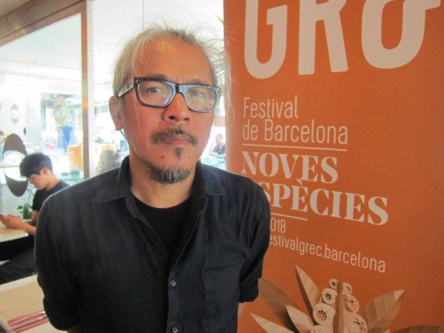 El cineasta Lav Diaz