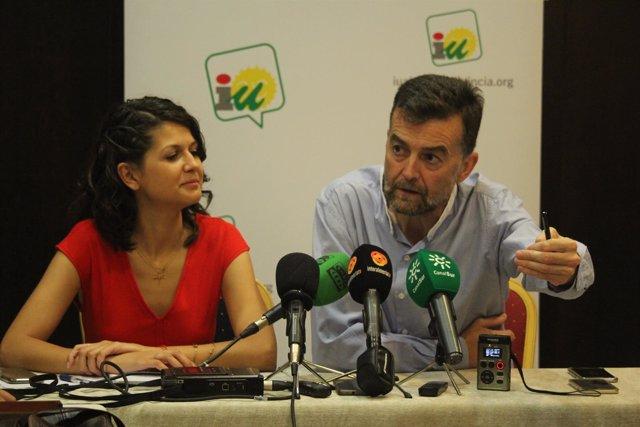 María Jesús Amate y Antonio Maíllo (IULV-CA)