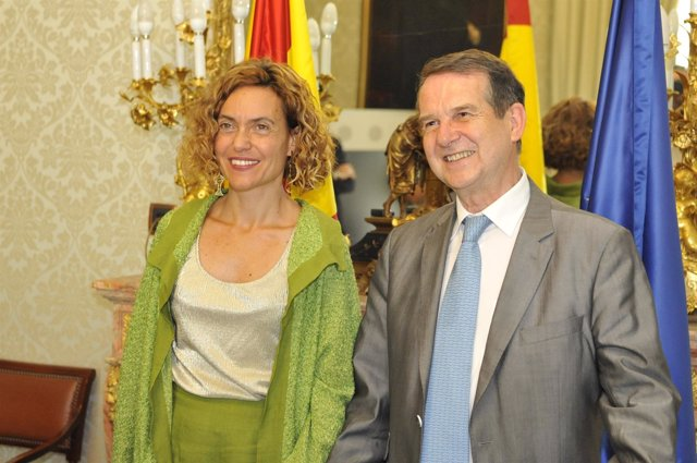 Encuentro entre Batet y Caballero en el Ministerio de Política Territorial
