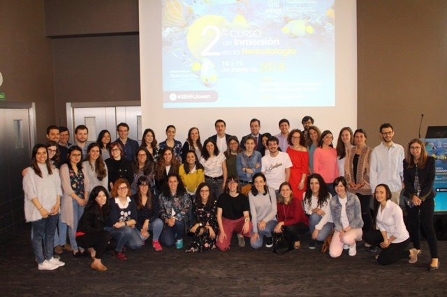 Participantes en el II Curso de Inmersión en la Hematología, de la SEHH