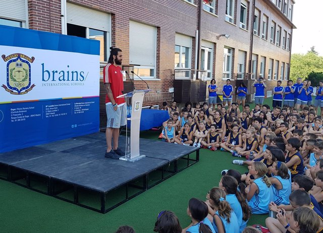 Ricky Rubio presenta la segunda edición de su campus en el  Brains International