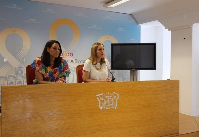 A la derecha, Myiriam Díaz