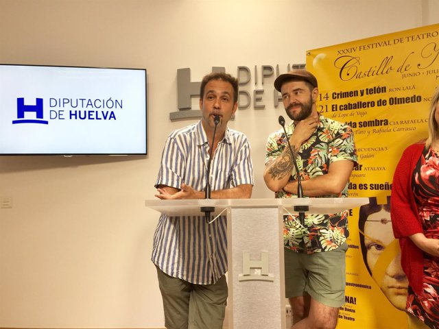 La compañía Ron Lalá lleva 'Crimen y telón' este sábado a Niebla.