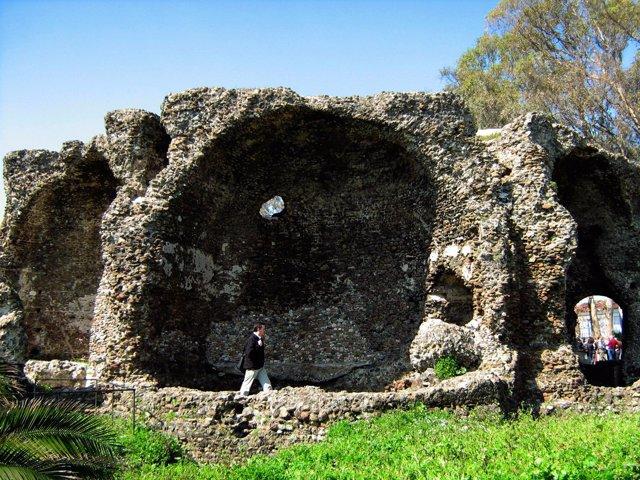 Gran Senda de Málaga bóvedas