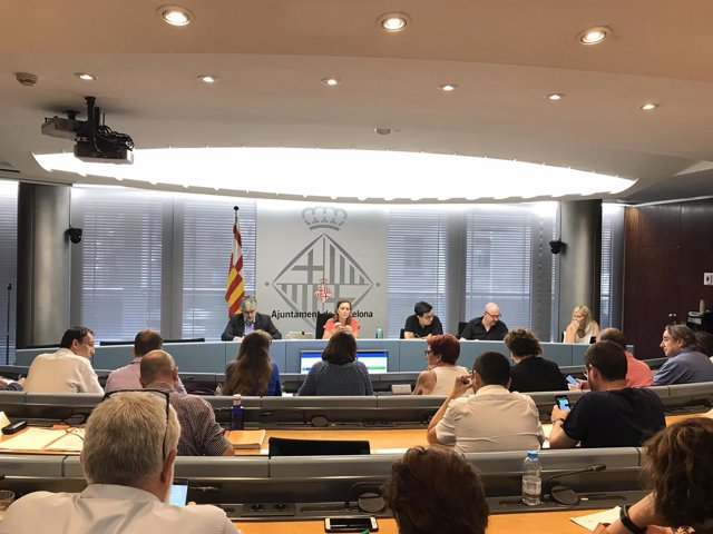 Comisión de Economía y Hacienda del Ayuntamiento de Barcelona