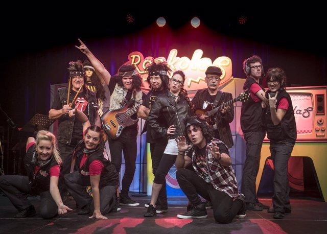 Los protagonistas de 'Los Rockolas'