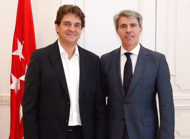 El alcalde de Fuenlabrada y el presidente de la Comunidad de Madrid