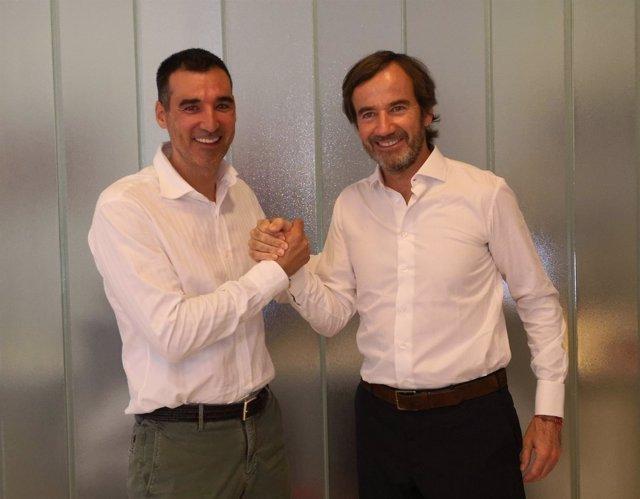 Miguel Vicente y Gonzalo Rodés