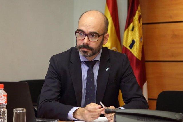 El director general en las Cortes