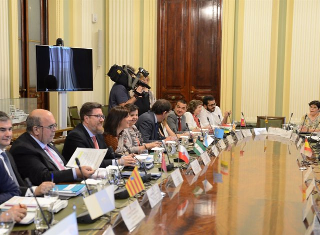 Conferencia de agricultura en Madrid