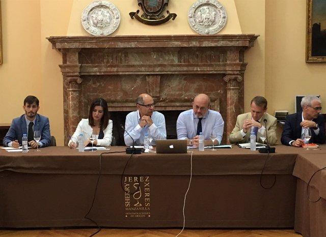 Fwd: [Grupoeconomia] Np El Sector Del Vino Europeo Se Reúne En Jerez Con La Mira