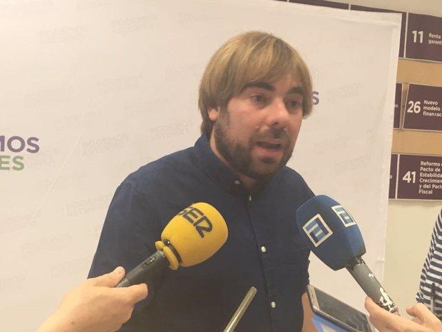 Daniel Ripa, secretario general de Podemos