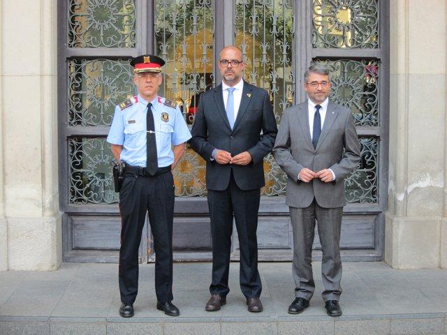 M.Buch, el nuevo comisario jefe Miquel Esquius i Andreu Martínez