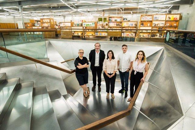 Carlos Rosón, Mira Bernabeu, Elisa Durán, Miriam Lozano Y Dora García