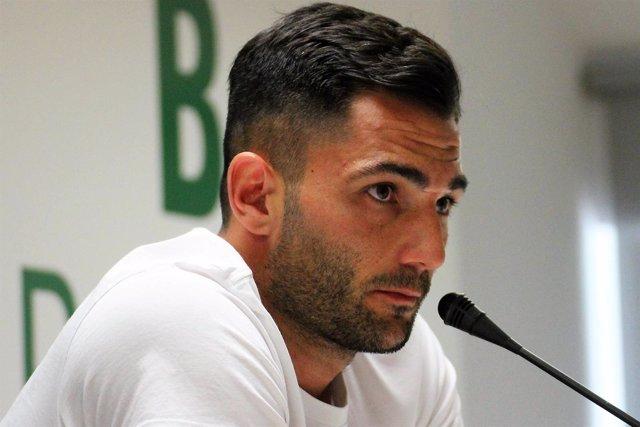 Antonio Adán, portero del Real Betis
