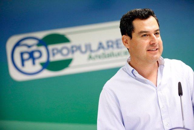 Juanma Moreno, presidente del PP-A