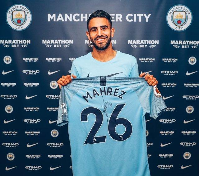 Riyad Mahrez Manchester City