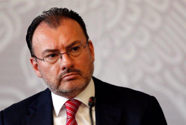 El ministro de Exteriores de México, Luis Videgaray