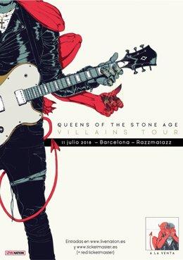 Queens Of The Stone Age actuará en la sala Razzmatazz de Barcelona en julio