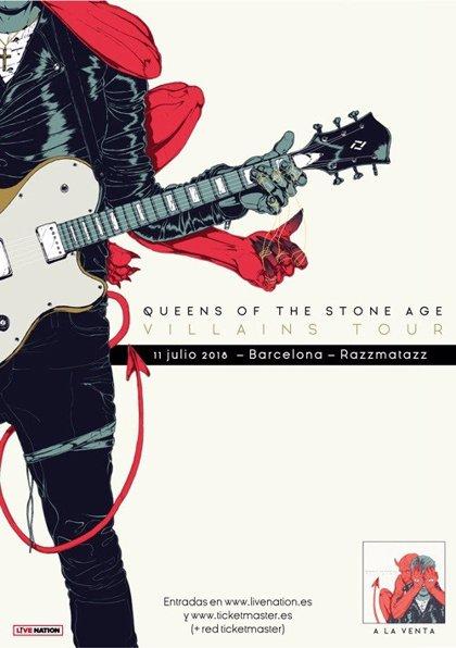 Queens of Stone Age llegan a la sala Razzmatazz este miércoles con su 'Villains Tour'