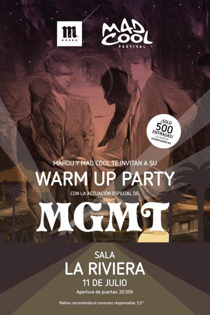 El grupo MGMT da la bienvenida a Mad Cool con un concierto exclusivo hoy en La Riviera