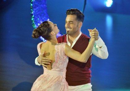 David Bustamante y Yana Olina, en la cuerda floja