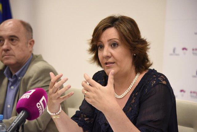 Consejera de Economía del Gobierno de Castilla-La Mancha, Patricia Franco